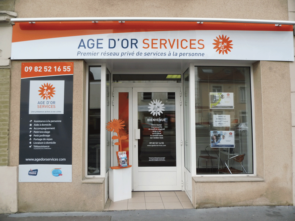 Franchise 2015 entreprendre services particuliers for Reims agence